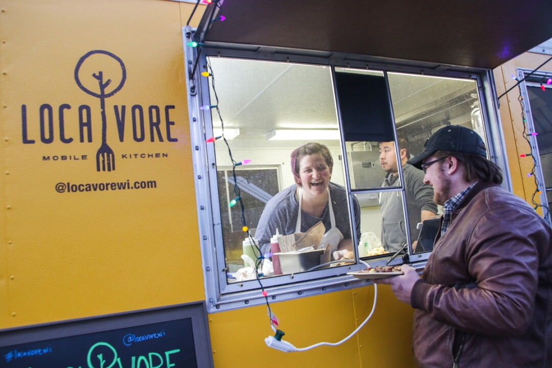 Chef Amy Huo of Locavore Mobile Kitchen.
