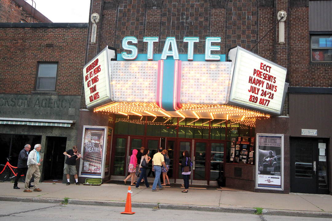 THE final bows. Eau Claire's State Theatre is nearing the end of its final season this summer. The last Chippewa Valley Theatre Guild production there will be State Fair, which premiers June 28.
