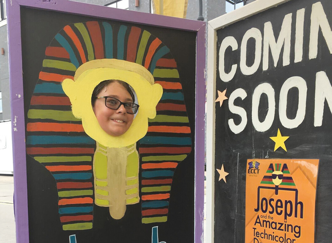 ANY DREAM WILL DO. The Eau Claire Children's Theatre promoted its latest show, Joseph and the Amazing Technicolor Dreamcoat, at the recent Family Day in Downtown Eau Claire.