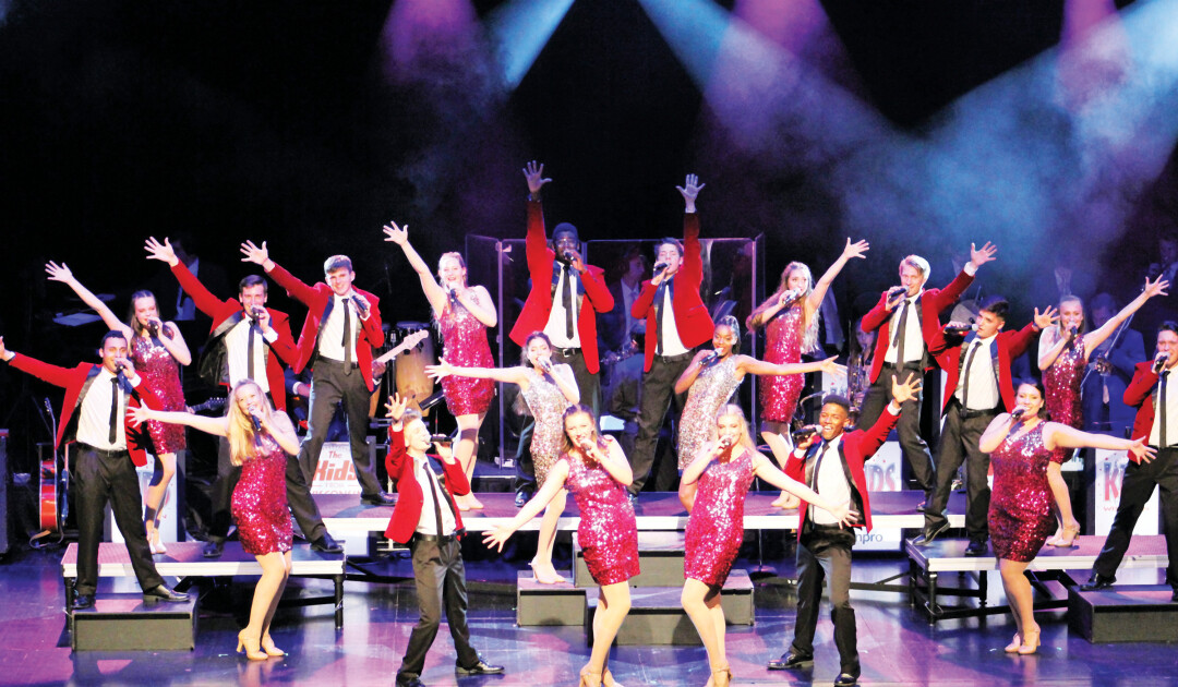 KIDS IN CONCERT. Eight of the 36 performers in the current cast of KIDS from Wisconsin have ties to the Chippewa Valley. The group will perform for The State Theatre's final show on July 30.