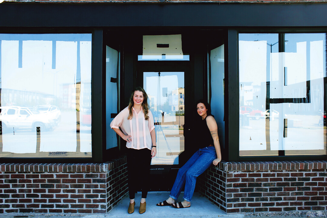 SPACE ODDITY. Elle McGee (left) and Serena Wagner are getting set to open their Odd headquarters with tons of art, progressive retail, unique events, and more.