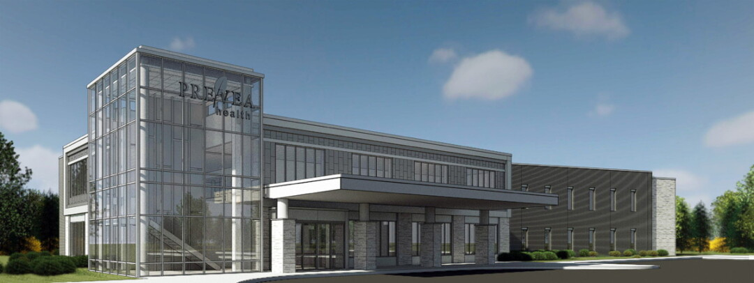 Prevea Health's planned medical office in Altoona's River Prairie