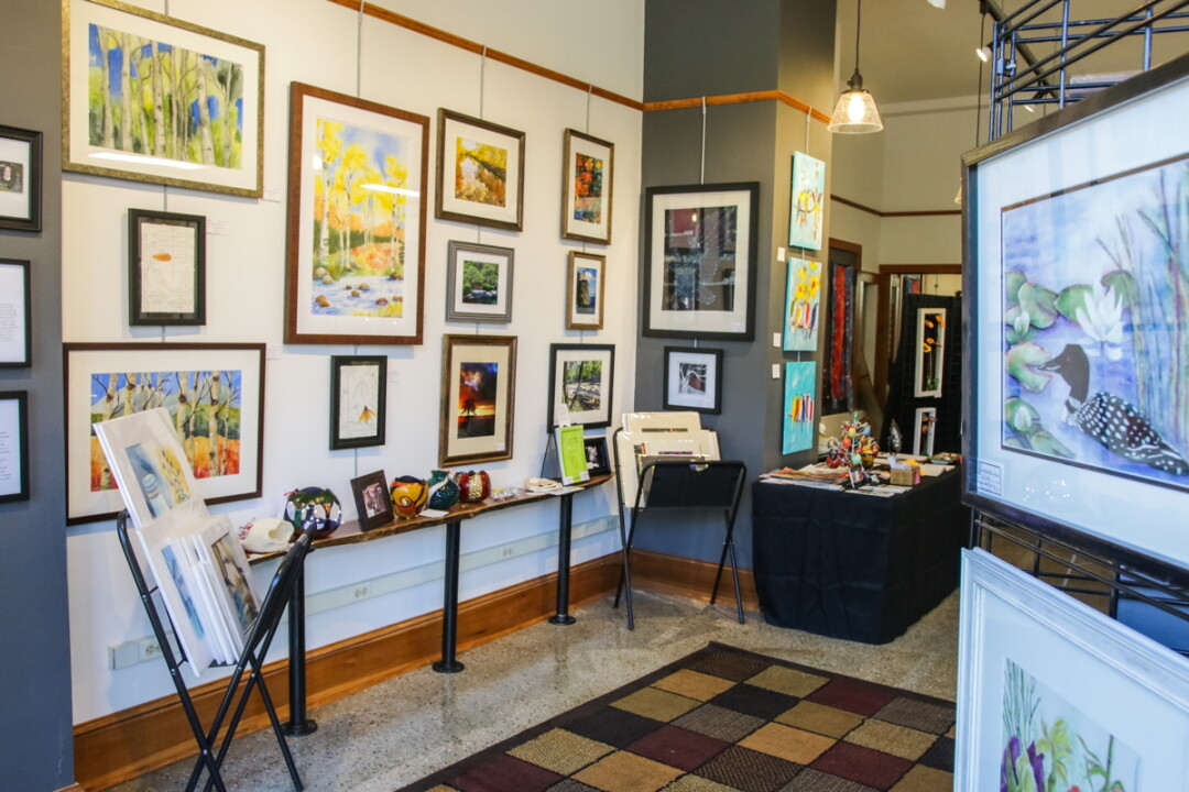RECHARGING THE ART. The Valley Art Gallery had remodeled its space at 304 Bridge St. in Chippewa Falls. The current exhibit features 13 artists offering wall art, fiber crafts, pottery, and more.