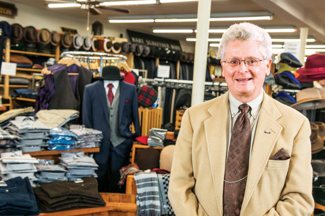 GET A SUIT THAT SUITS YOU. While big box clothiers are closing their doors, Muldoon's Men's Wear offers quality men's clothes and a personal touch.