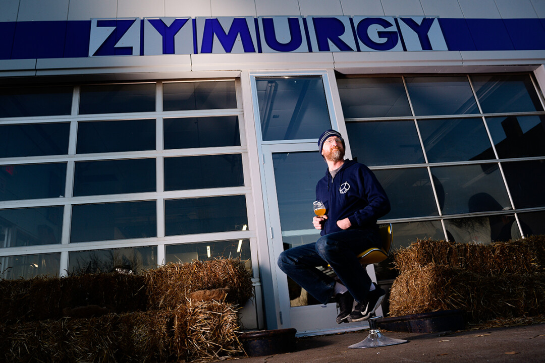 HEY NOW! Jonathan Christiansen, owner and brewer at Zymurgy Brewing in Menomonie, is busy preparing the hoppy spot for a Dec. 1 opening. The dog-friendly taproom will feature 15 taps.