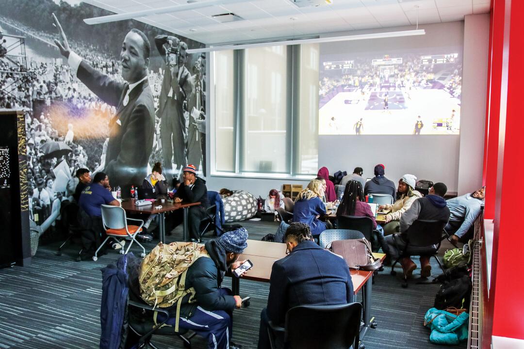 Black Student Alliance opens Black Cultural Center at UWEC