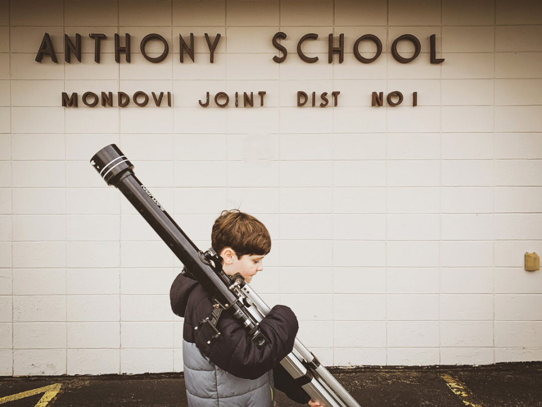 THINGS ARE LOOKING UP. The now-shuttered Anthony School outside Mondovi could be the home of a new charter school for children in grades six through 12. The school would utilize project-based learning.