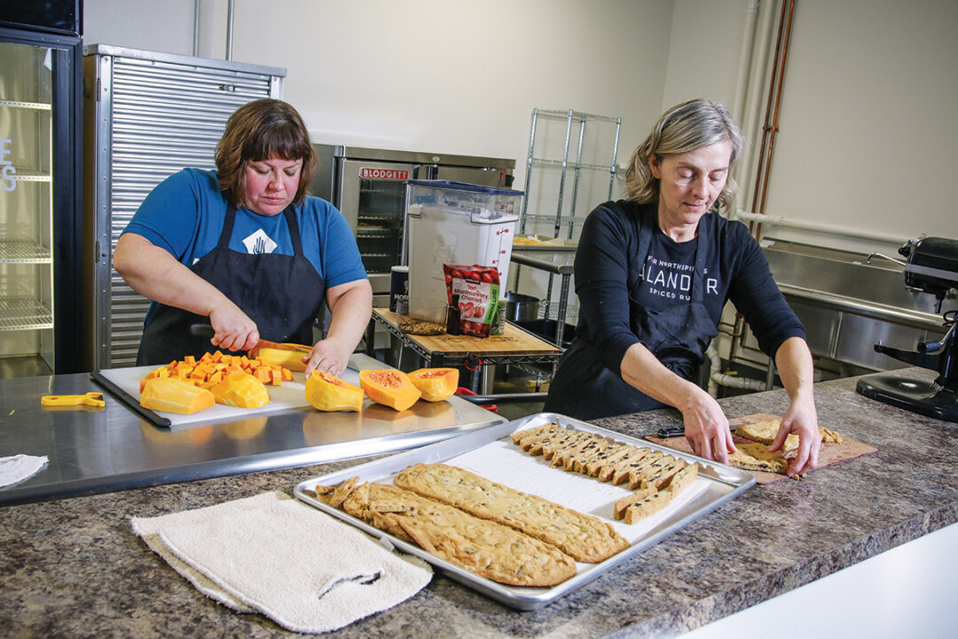 Forage owners and chefs Michelle Thiede and Kristen Dexter.