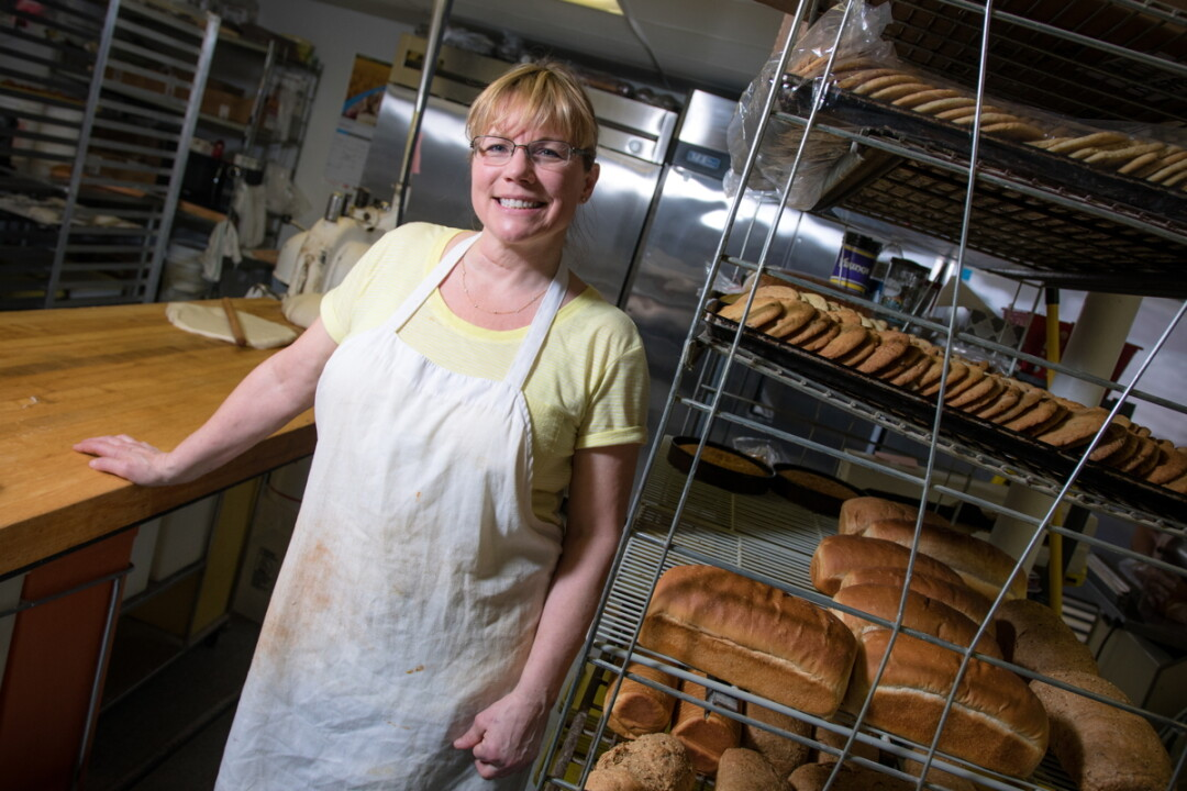 NEW AT SUE'S. Kerry Bauer took over as owner of Sue's Deluxe Bake Shop, 1319 Birch St., in January.