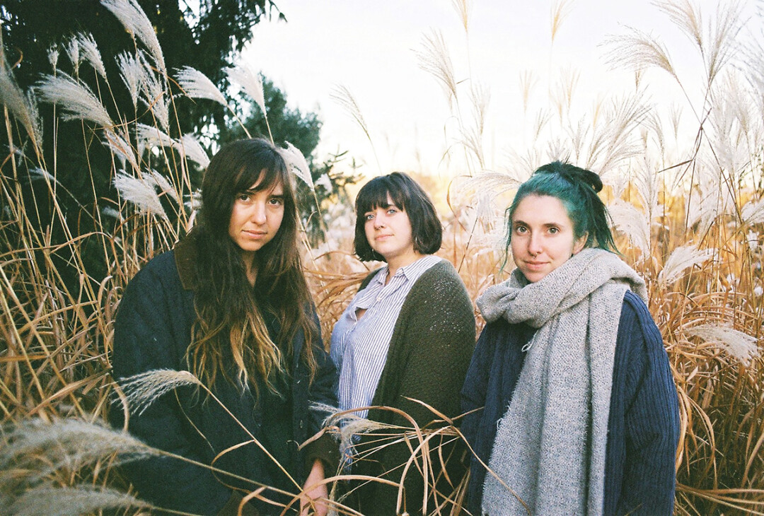 OUT OF THE WOODS. LASKA – aka sisters Bex, Hannah, and Mookie Morton – will release a new EP on March 22 called in the blossom.