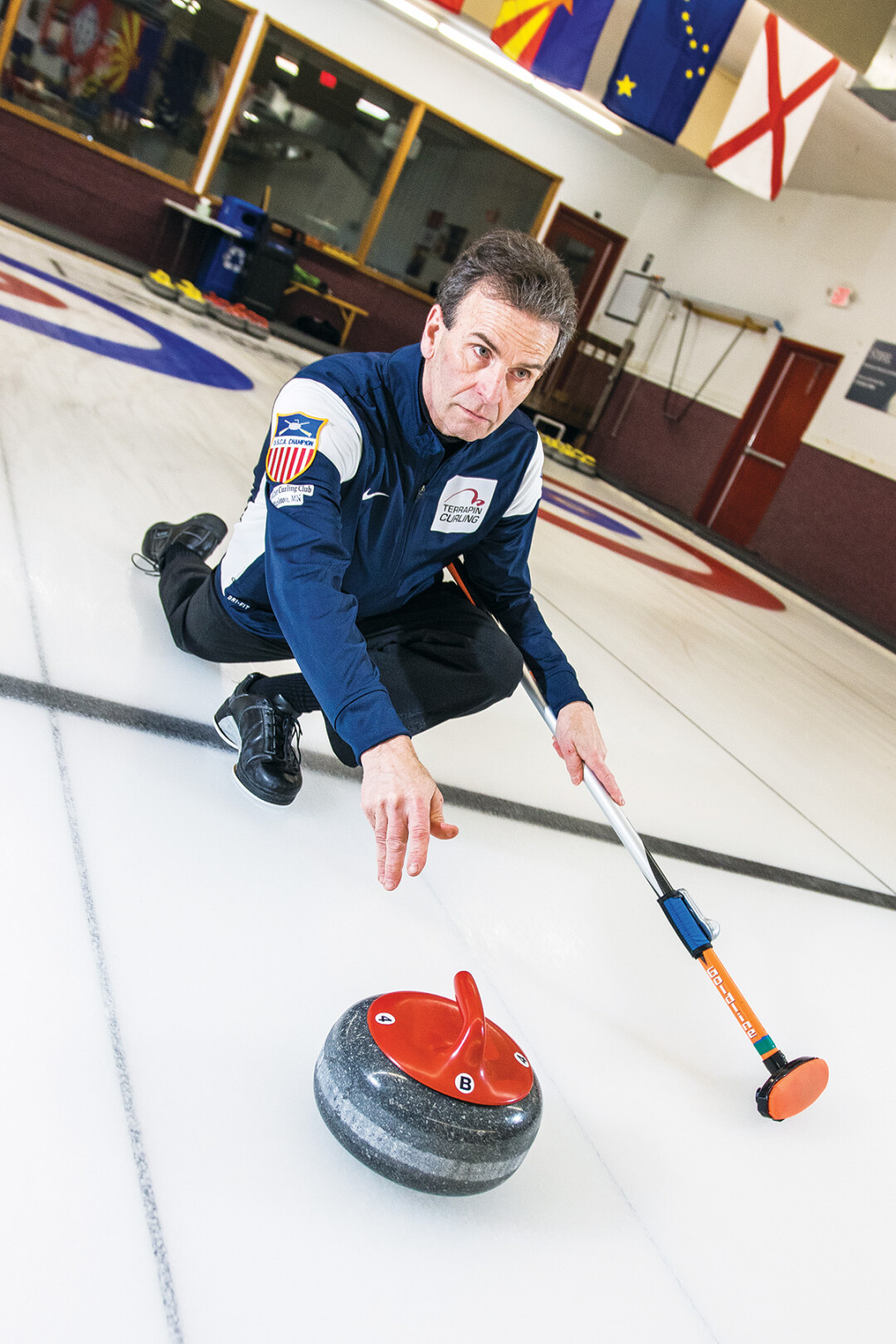 LIKE A ROLLING STONE. Eau Claire curler Geoff Goodland will go to Norway in April to compete in the World Senior Curling Championships in Stavangar, Norway. It will be his fifth trip to the World Senior event.