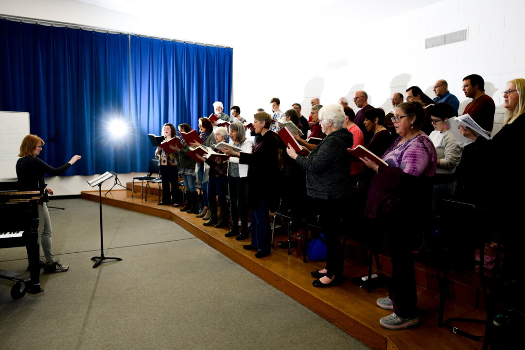 THEY CAN HANDEL IT. The Menomonie Singers will perform a portion of Handel's Messiah later this month.
