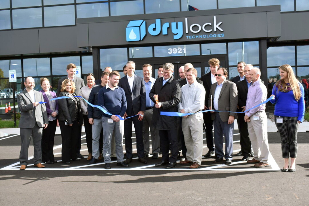 The new Drylock Technologies headquarters opened in Chippewa County in October.