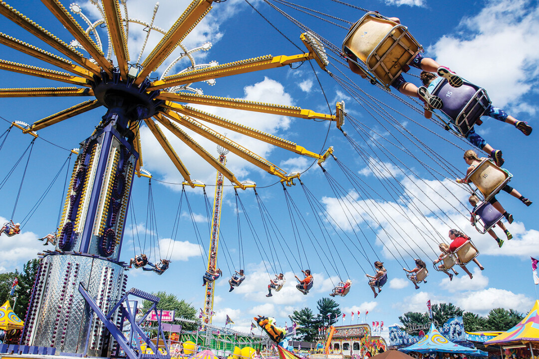 NORTHERN WISCONSIN STATE FAIR • Wednesday-Sunday, July 10-14, 2019