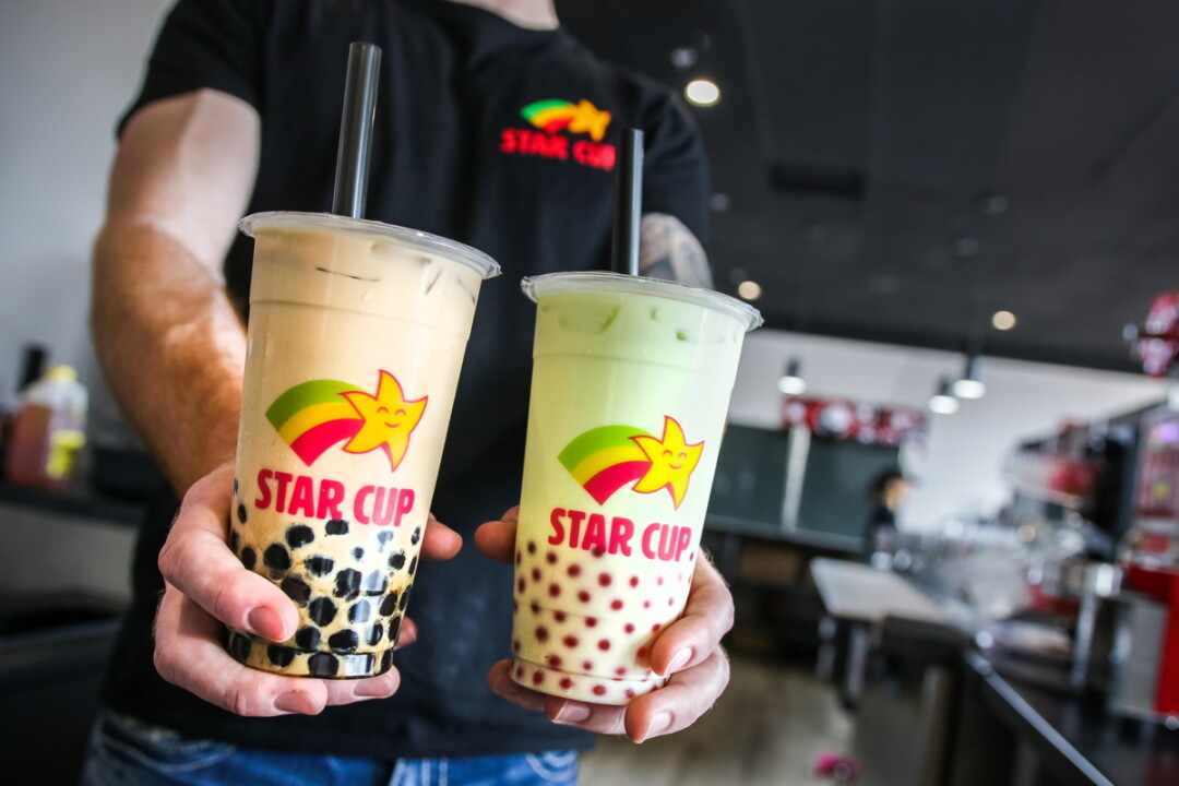BIBI KNOWS BOBA. Two years after opening a bubble tea shop in Oakwood Mall, entrepreneur Bibi Krumenauer (not pictured) has expanded to downtown Eau Claire with fruit teas, milk teas, slushes, and smoothies.
