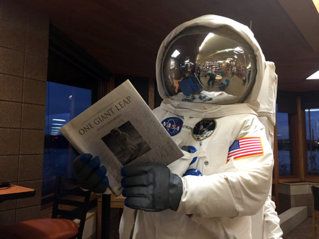 Reading is out of this world!