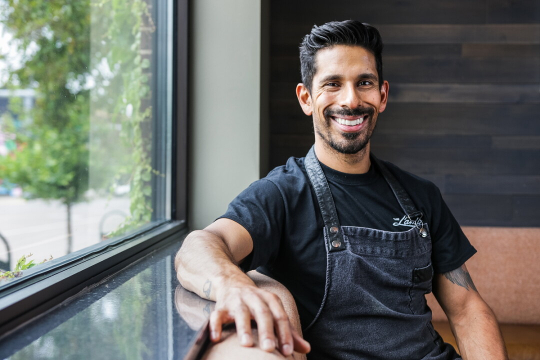 Chef Eric Mendoza has run back-of-house in farm-to-table restaurants in Alaska and Utah, using skills developed at the French Culinary Institute in New York City.
