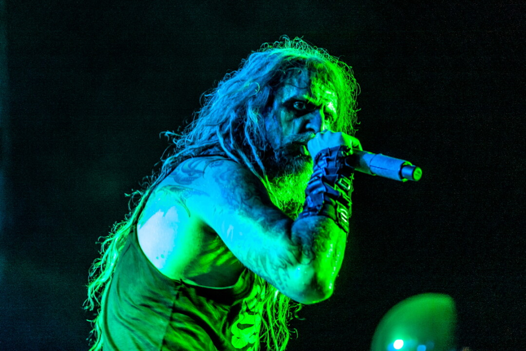 FEAR THE ROCKING DEAD. Despite some sketchy weather, Rock Fest 2019 took place Thursday, July 18, through Saturday, July 20, in Cadott. This massive rock 'n' roll fest featured such artists as Rob Zombie (pictured), Marilyn Manson, and P.O.D., with many other performances throughout the weekend.