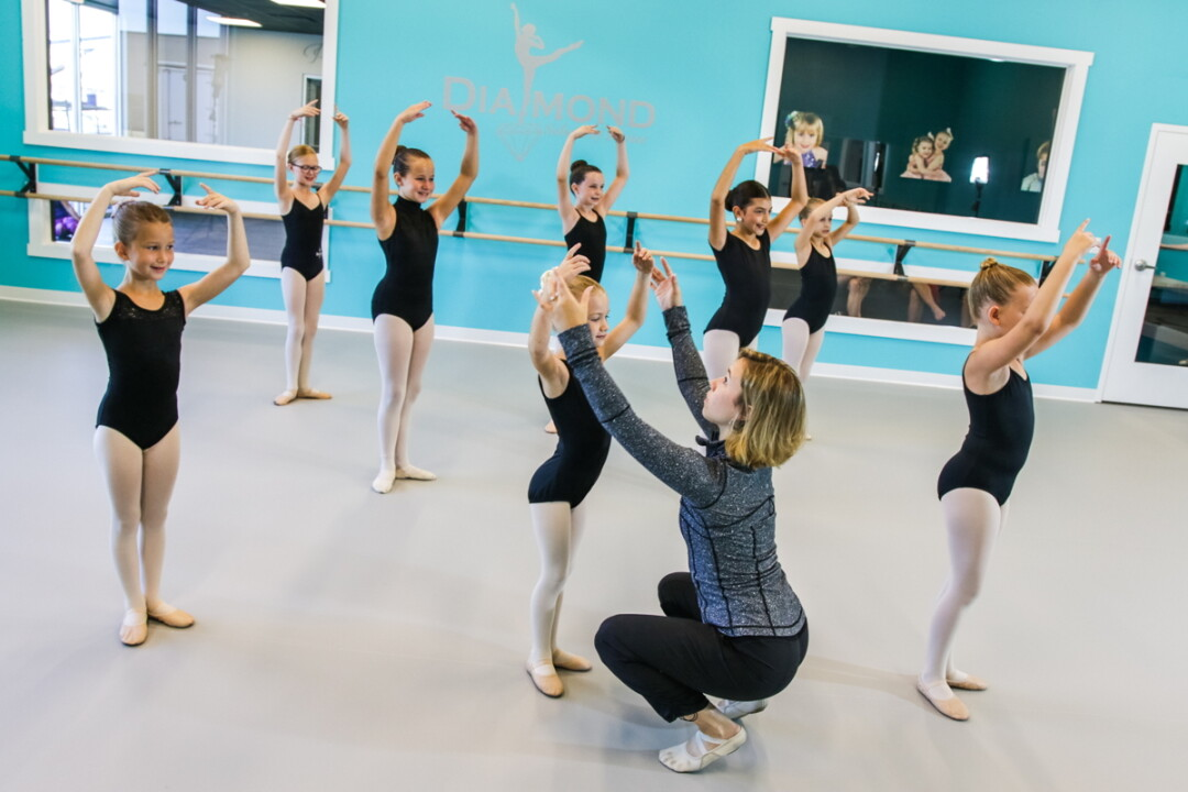 DANCER, HEEL THYSELF! The new Diamond School of Dance facilities can handle 700 students, with plans to expand to 850 in the years to come. The studio is its 20th year of operation.