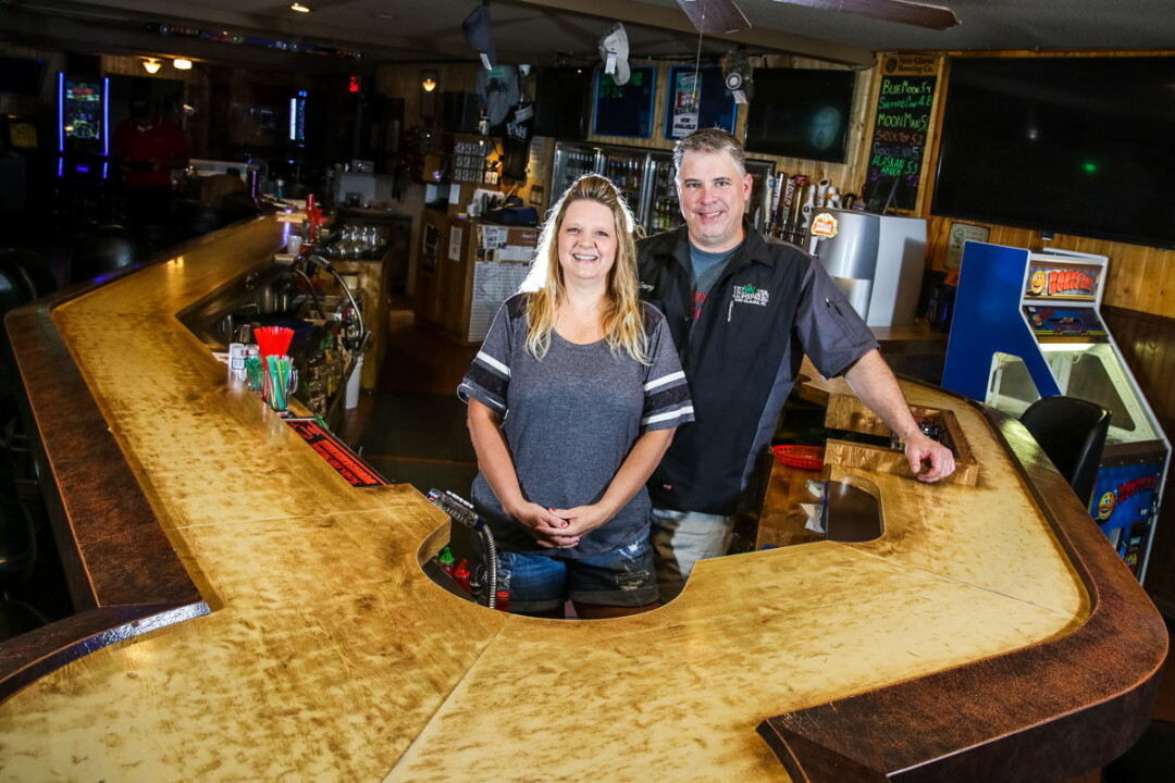 BEHIND THE BAR AND BEHIND THE BUSINESS. On July 1, Lisa and Gary Gruen purchased Eau Claire bar Hobbsy & Me after decades of patronage.