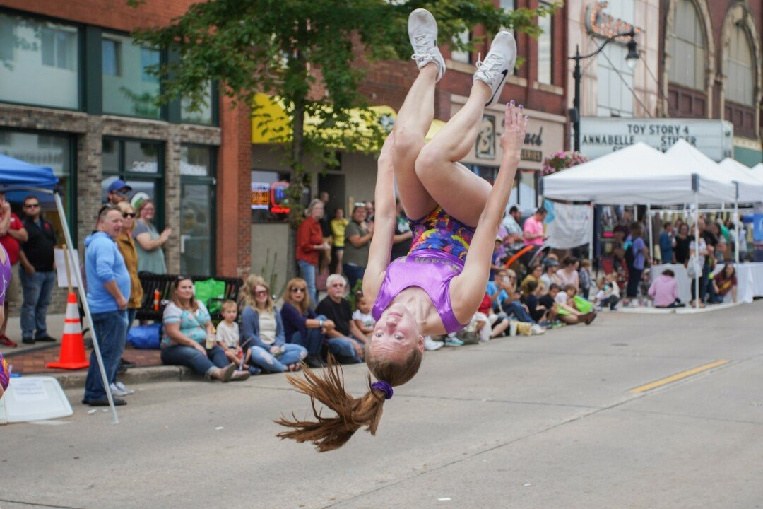 A FLIPPING AWESOME TIME WAS HAD BY ALL. Downtown Eau Claire's annual International Fall Festival took place on Saturday, Sept. 14, shutting down N. Barstow Street for food vendors, booths, a petting zone, and of course,  the big parade.