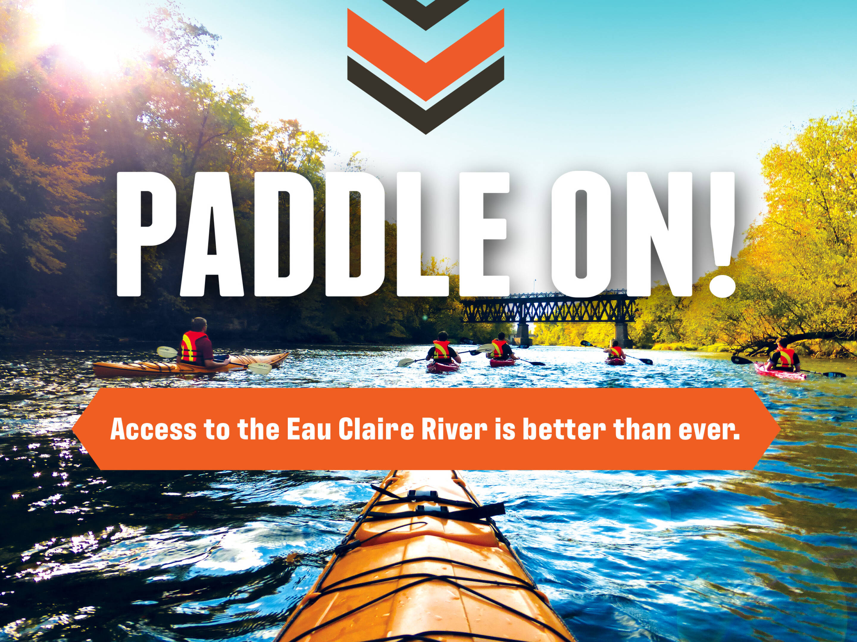 Paddle On: Access to the Eau Claire River is better than ever.