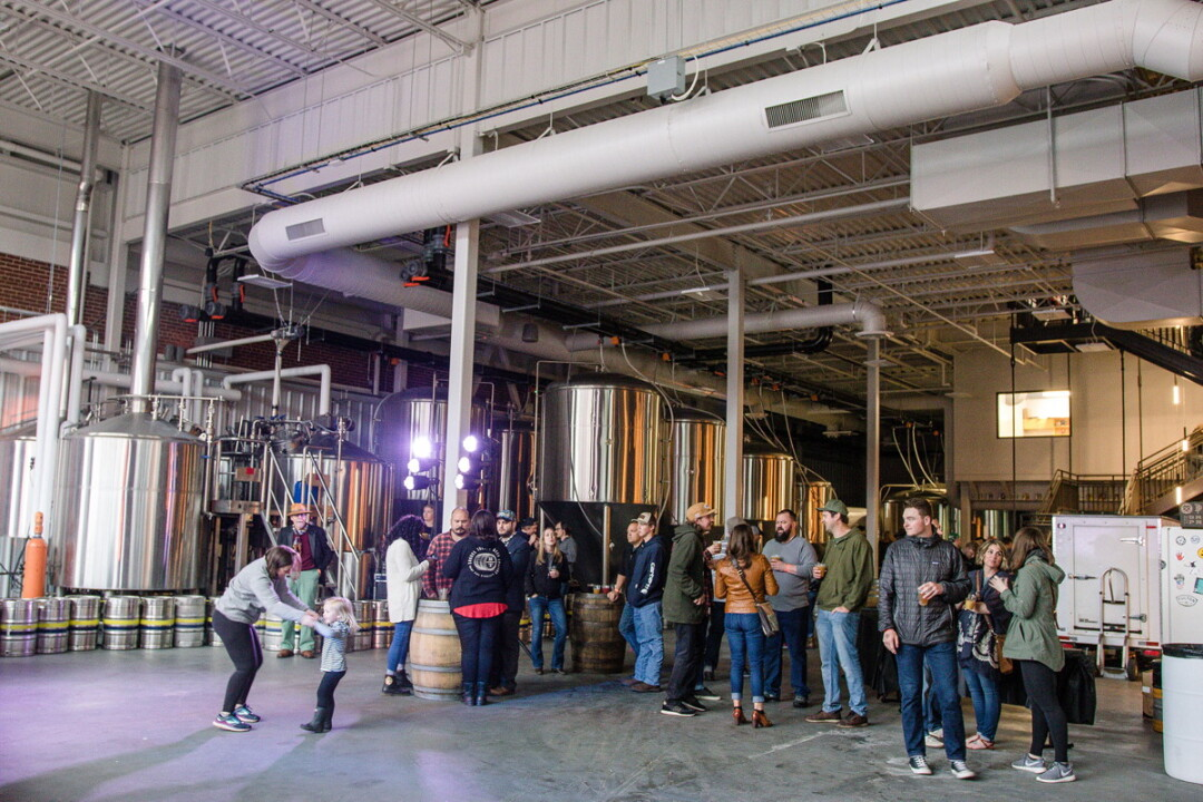 "MAKING IT NEW. The Brewing Projekt, 1807 N. Oxford Ave., is an example of the kind of ""maker"" development the city would like to see in the Cannery District."