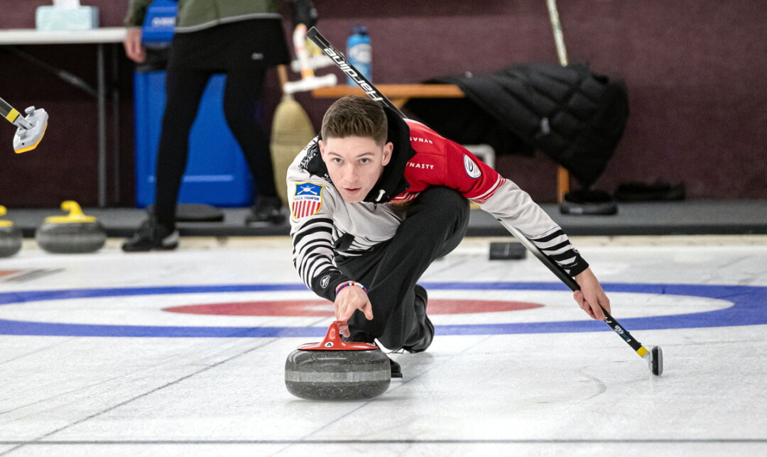 HE WILL, HE WILL ROCK YOU. Eau Claire curler Charlie Thompson, 17, will represent the United States at the Youth Olympic Games this winter in Switzerland.