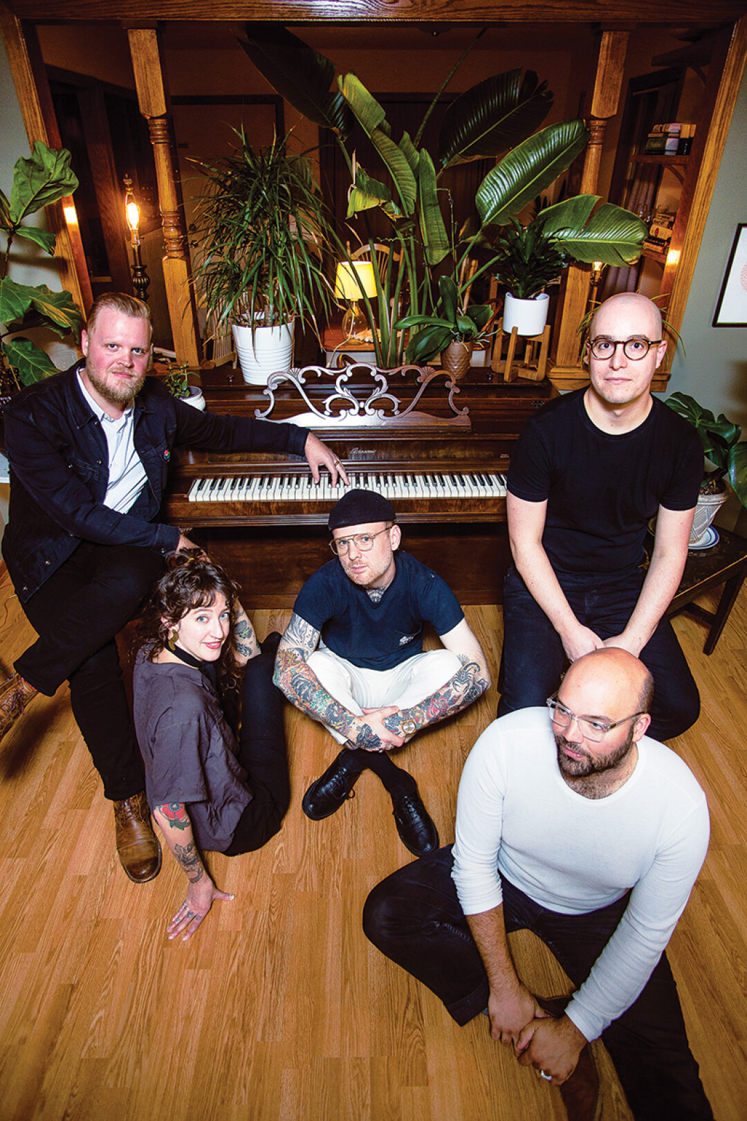 WE ARE IN THE LIVING ROOM. Minneapolis-based, Eau Claire-connected indie band We Are The Willows has been writing music, touring, and performing for a decade. The group will perform an anniversary show Nov. 16.