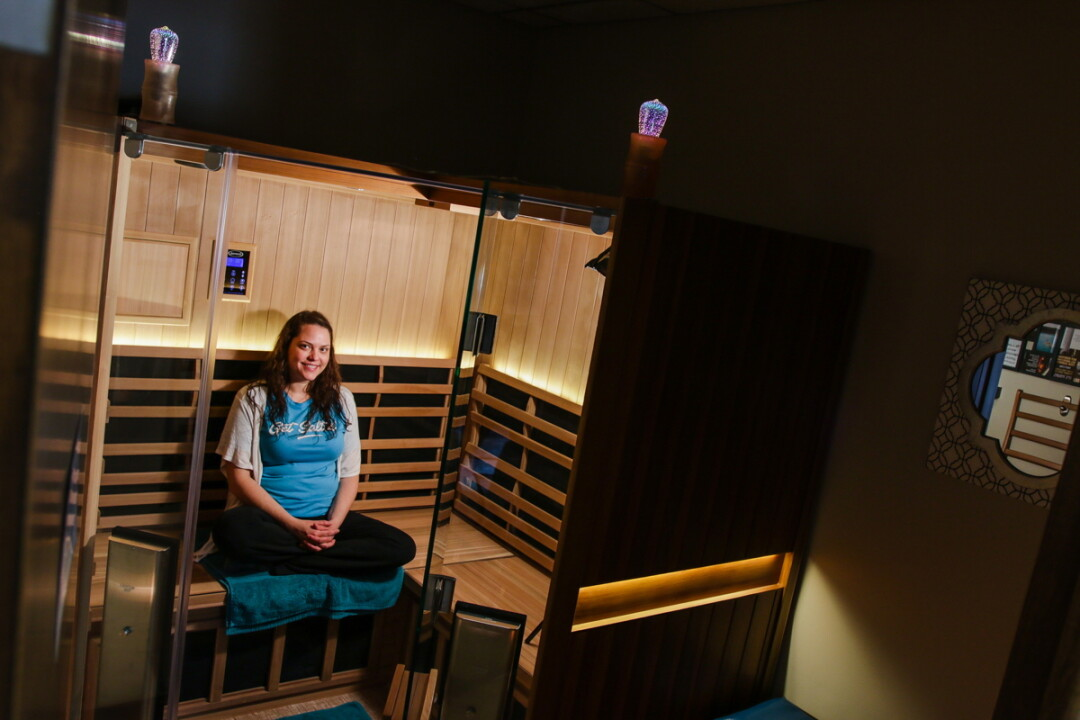 Infrared Sauna at the Luminary