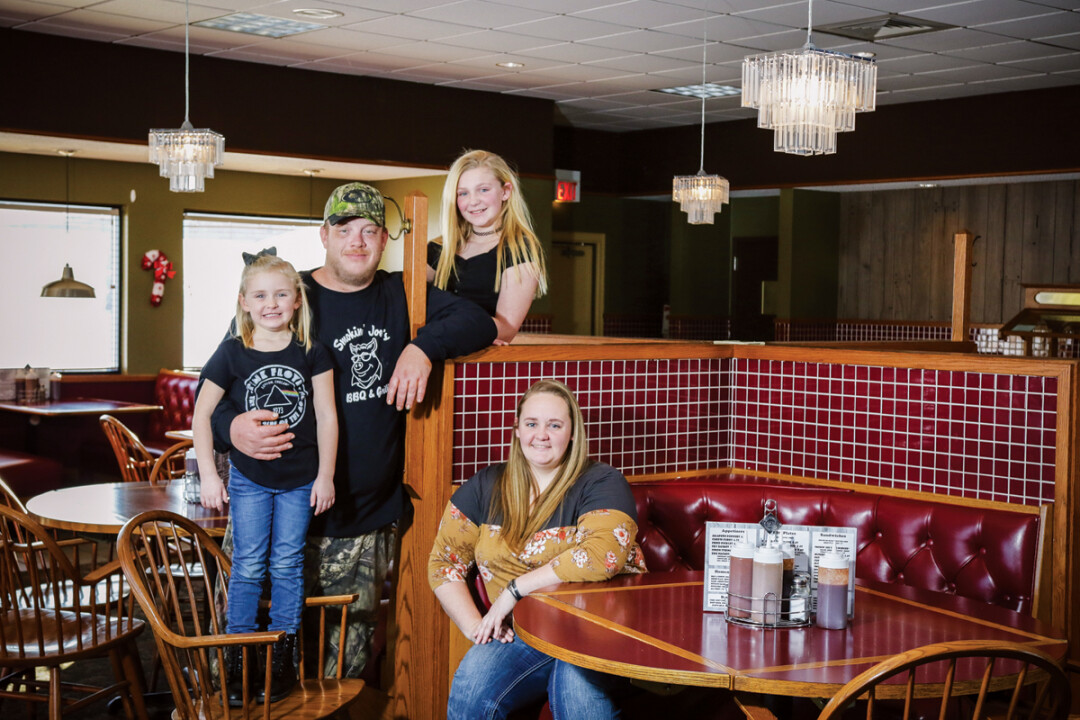 Alabama transplants April and Tony Nander moved their family to Menomonie in 2017, opening Smokin' Joe's BBQ & Grill (1705 Plaza Drive) last November. Neighbors encouraged the couple after a housewarming barbecue.