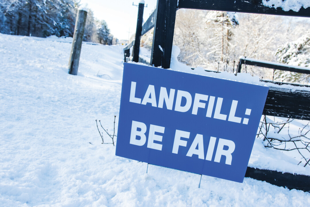 Neighbors of the Seven Mile Creek Landfill have expressed a number of concerns about the expansion proposal, including the impact of additional odor, truck traffic, and litter.