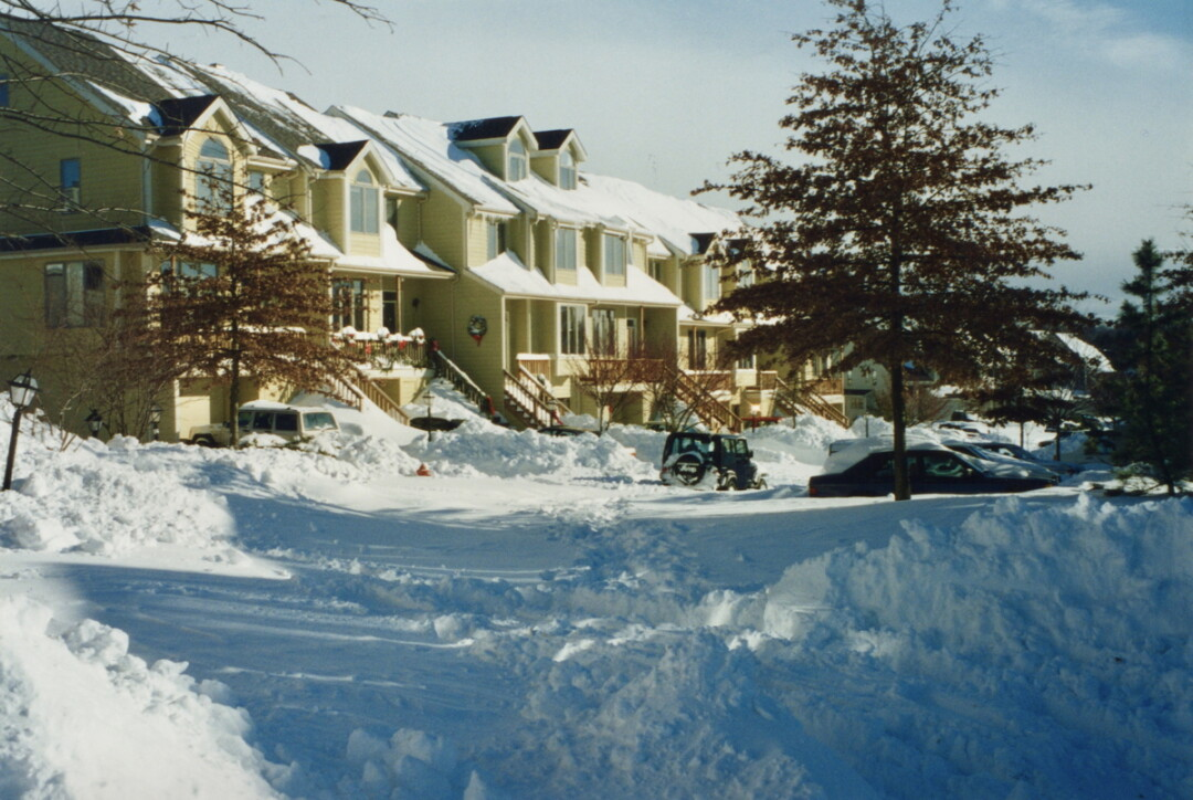 Baltimore, Maryland, after the Blizzard of '96