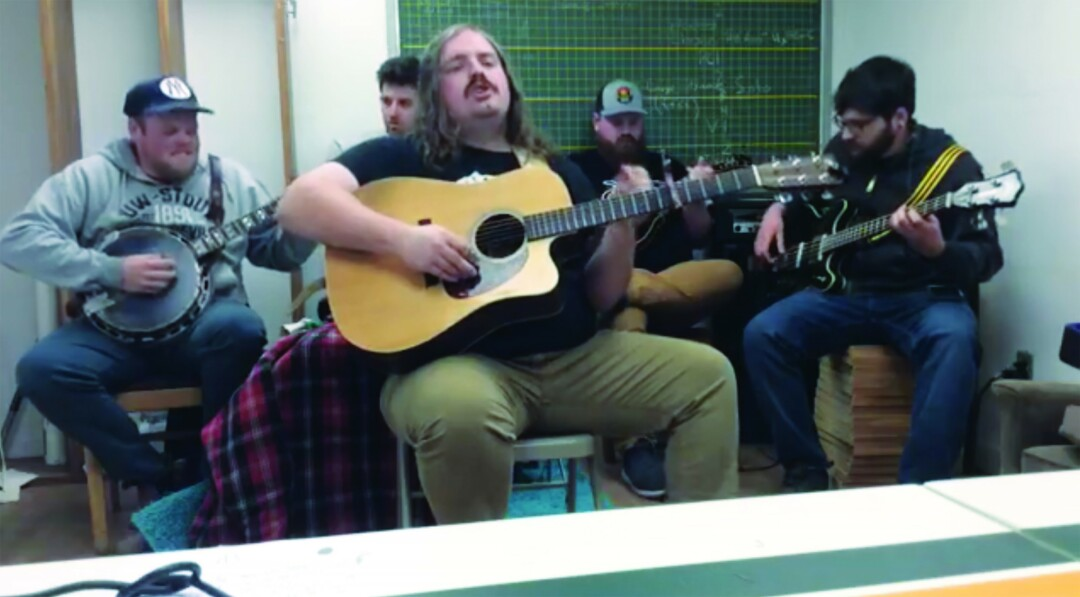 THEM STREAMY BOYS. Bluegrass band Them Coulee Boys did an hour-long concert on Facebook Live.