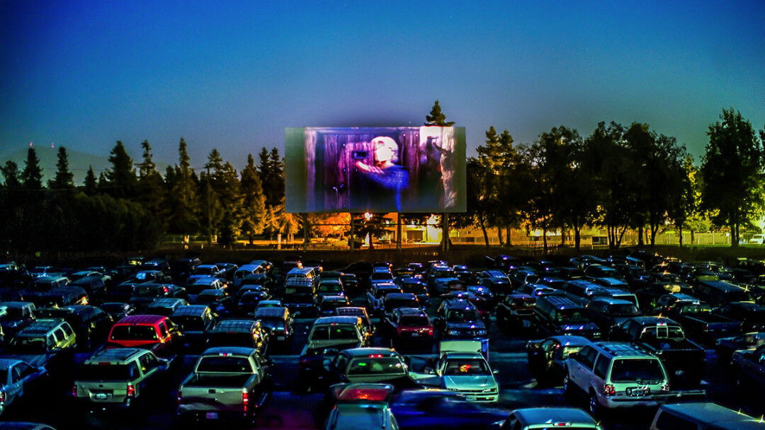 A drive-in theater in Concord, California. (Photo by Thomas Hawk | CC-BY-NC 2.0)