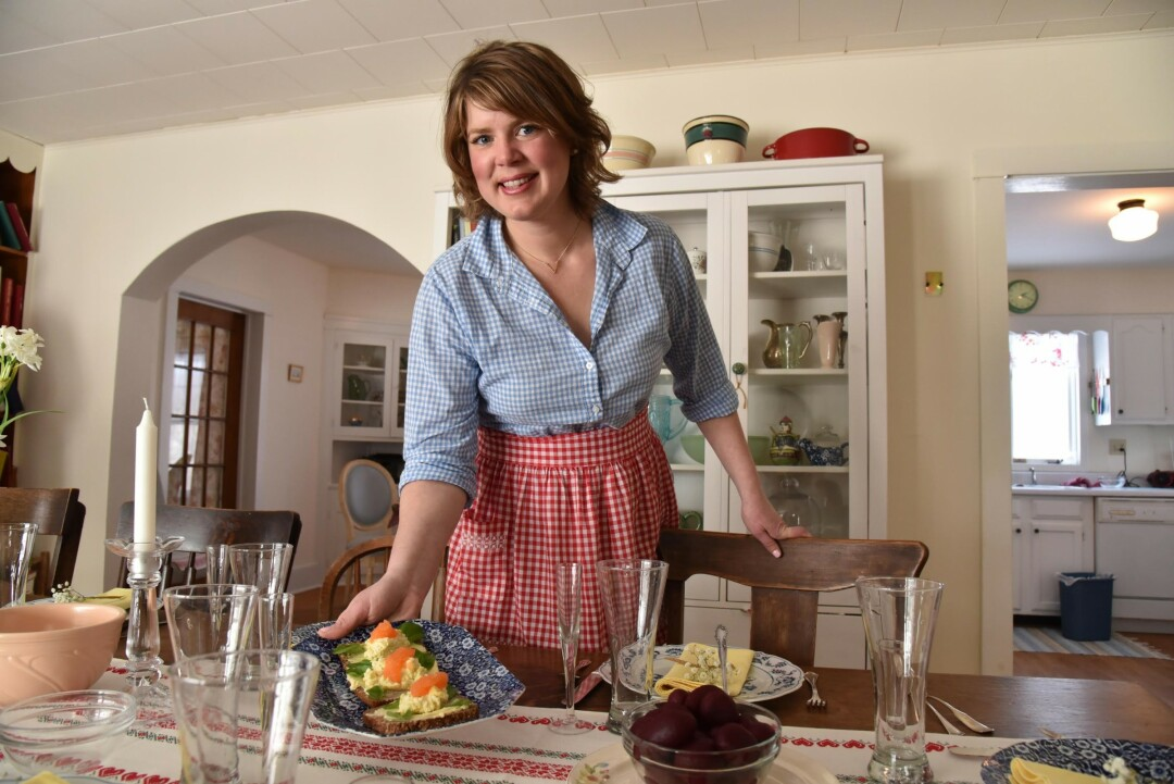 Inga Witscher, host of Around the Farm Table.