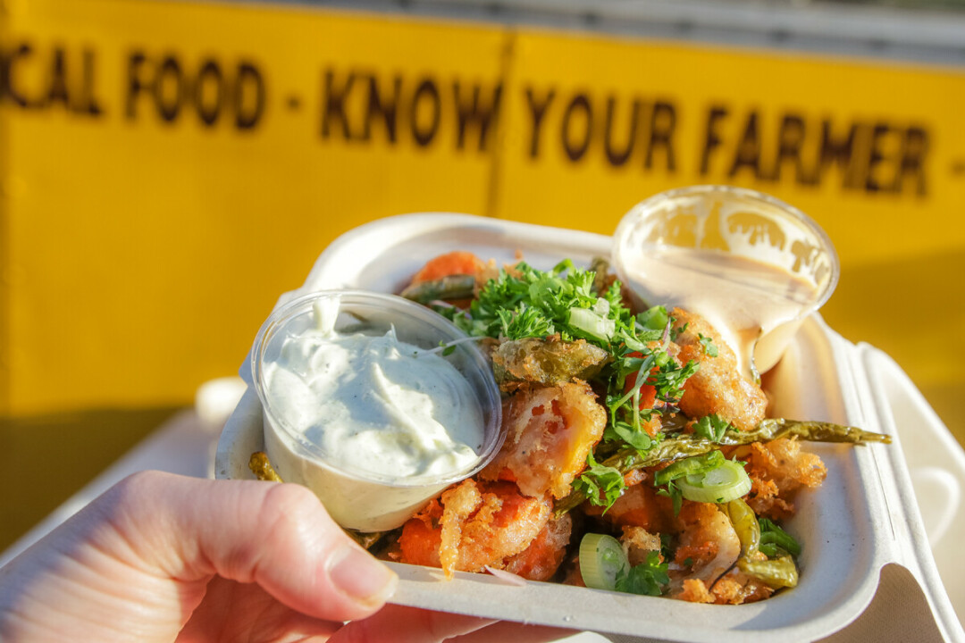 Live Great Food is just one of many local food trucks slated for the Food Truck Frenzy event this summer.