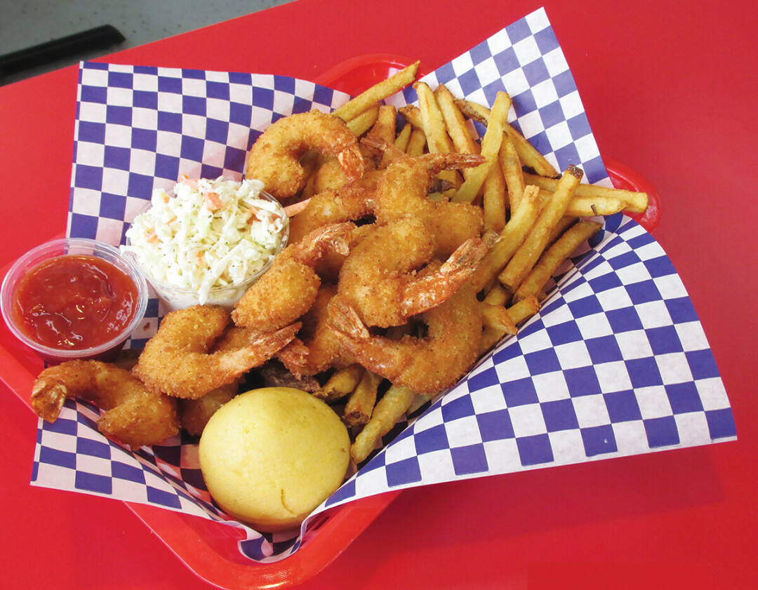 FRIEND FOOD FRENZY. Dig into food-truck inspired fare at Anderson's Chic-n-Fish in Chippewa Falls.