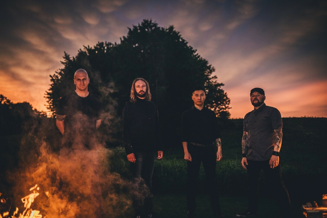 SLOW BURN. Ghosts of the Sun signed to a label and dropped a majestic self-titled album of long-winding instrumental metal songs. (Photo by Trenity White)