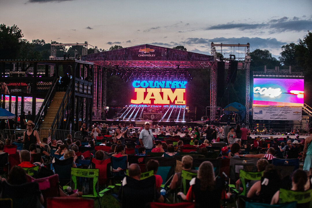 Country Jam USA's 30th edition, back in the summer of 2019.
