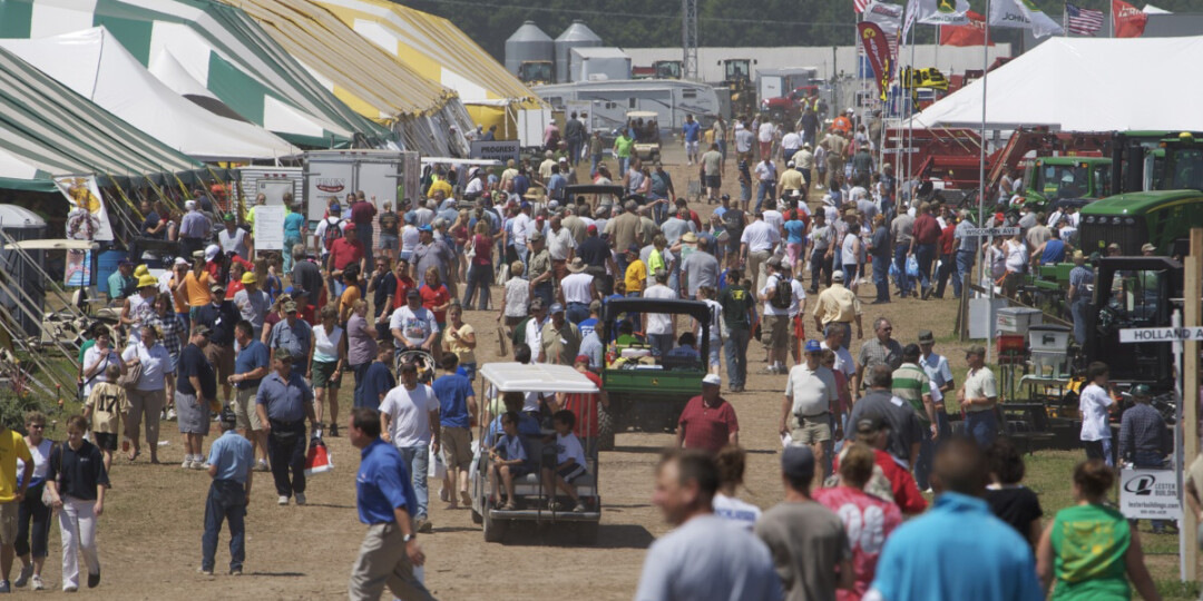 The crowd at a previous Wisconsin Farm Technology Days. (Submitted photo)
