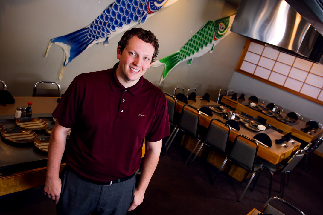 Eau Claire native Charlee Markquart is co-owner of Tokyo Japanese Restaurant, which he plans to move to downtown Eau Claire during the coming year.