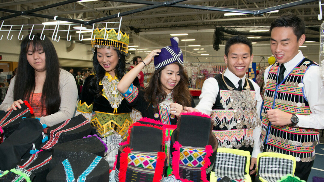 A previous Hmong New Year event at UW-Eau Claire. (UWEC photo)