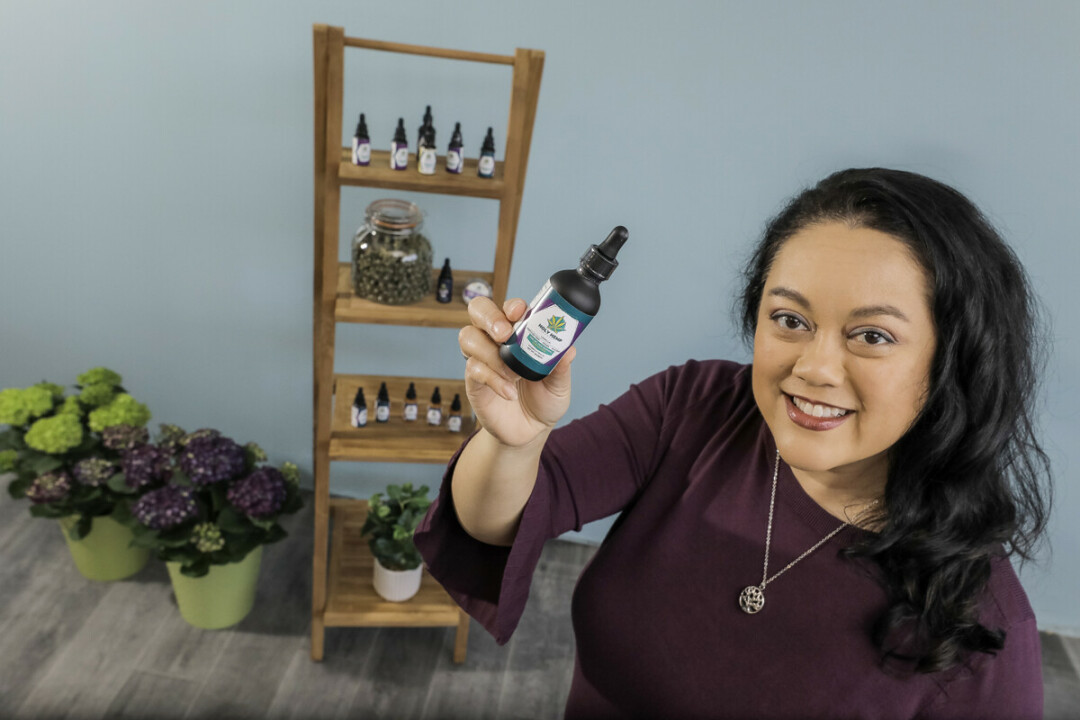 HOLY HEMP!  Lisa Harris Gore, owner of the Holy Hemp Company - a local aid farm in Eau Claire - will open her new business on April 20th.