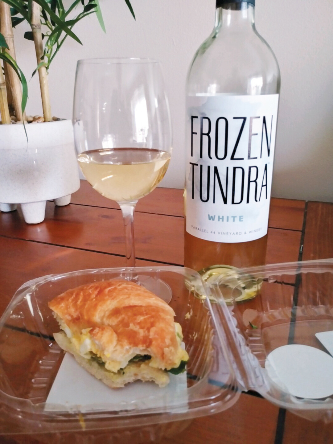 A PERFECT PAIR. Pairing wine at random can sometimes create the best combinations. (Photo by Michelle Nystrom)