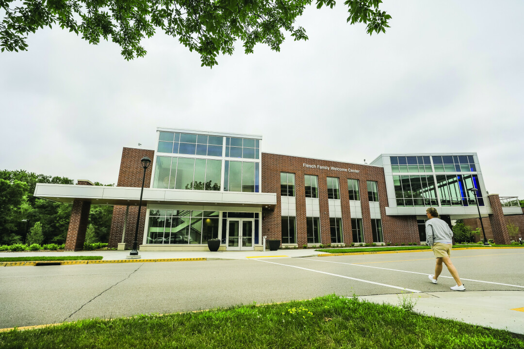 Welcome To Campus: New Building Welcomes Visitors To UWEC