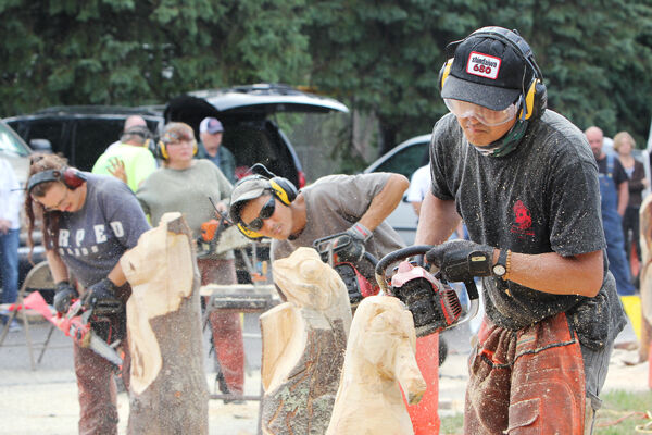 Us open chainsaw sculpture championship