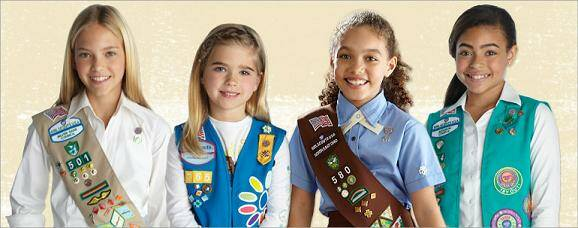 girl scout open house   girl scouts