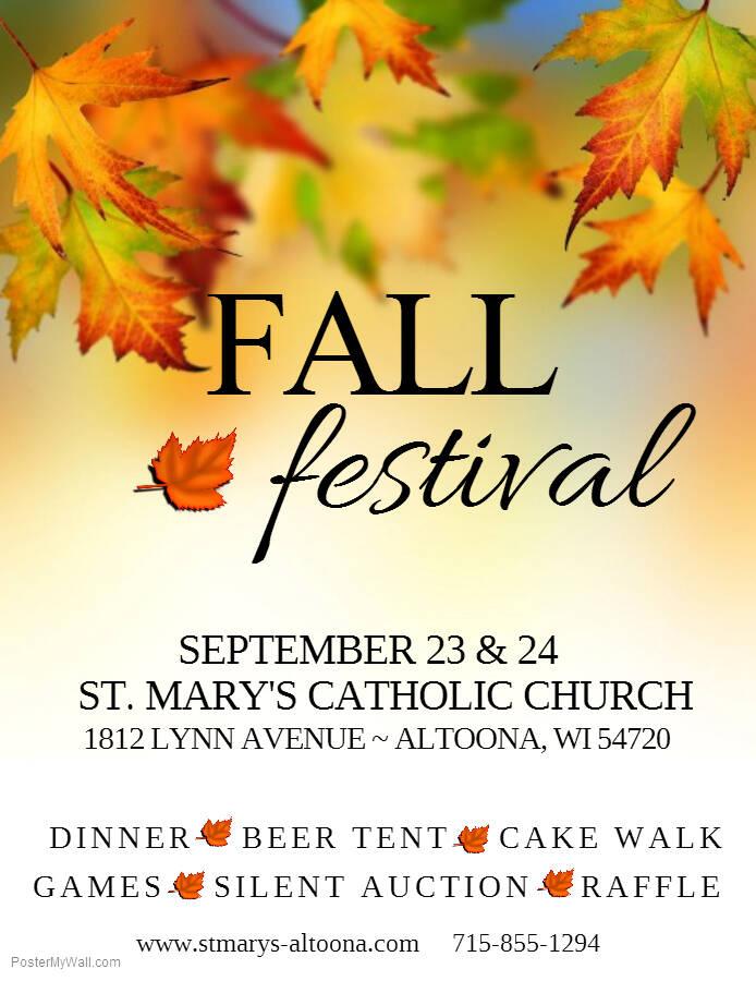St. Mary's Fall Festival - St. Mary's Catholic Church