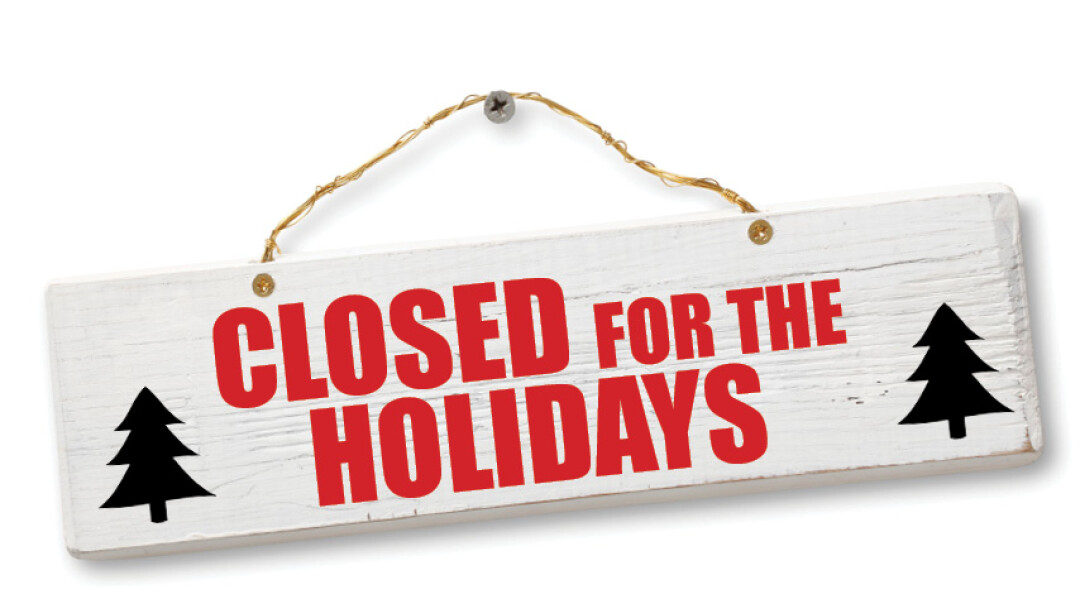 Image result for Closed for the Holidays